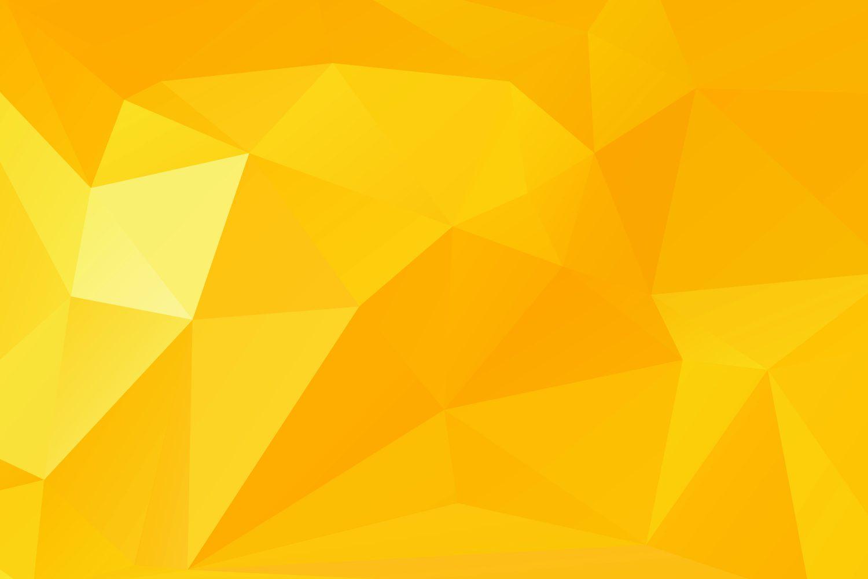 Polygon Hintergrund orange