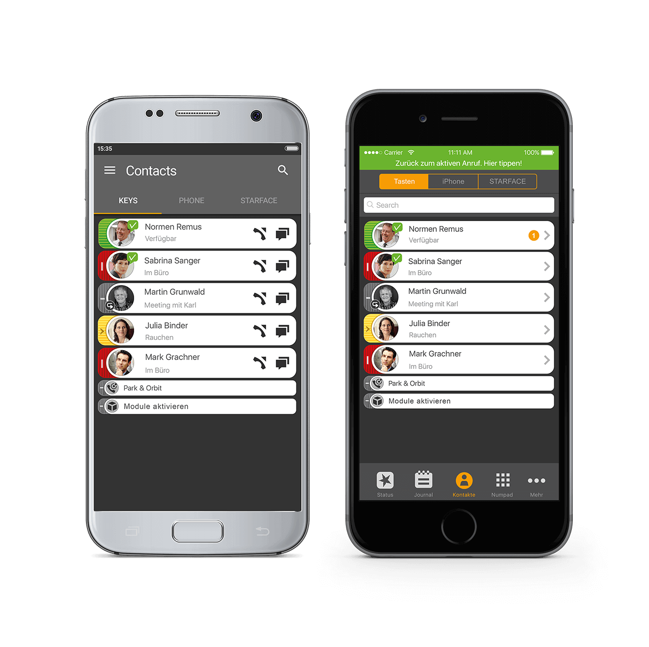 Starface Mobile Client