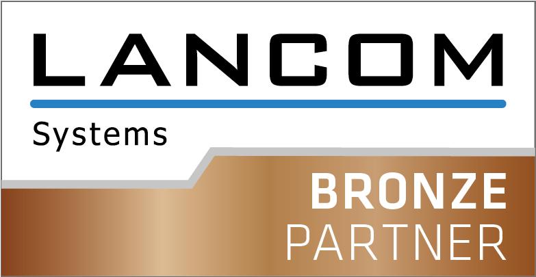 Lancom Bronze Partner Logo